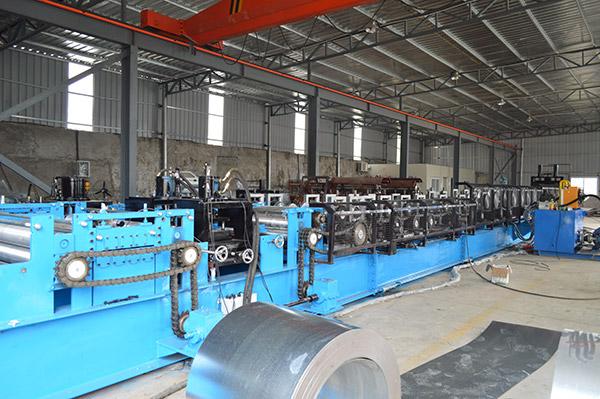 Кабельный лоток Профилегибочная машина готовый экспорт в Австралию