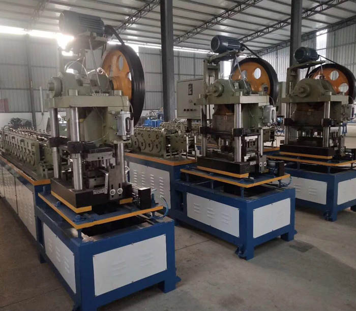 Telescopic channel drawer slides roll forming machine
