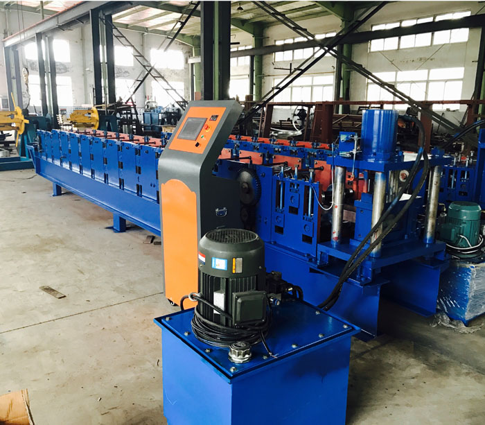 Drywall C U Channel Machine Metal Stud Roll Forming Machine