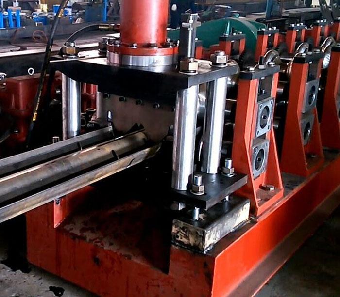 Оборудование для производства балок барьерного ограждения