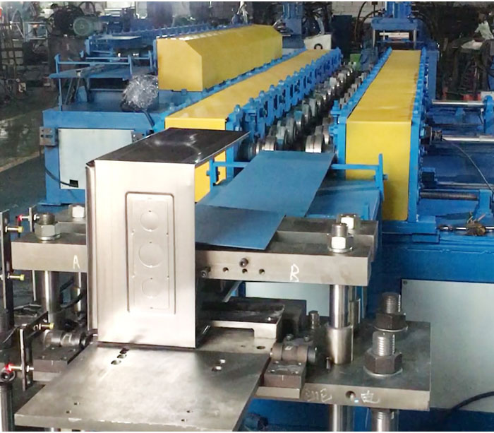 steel mounted cabinet machine
