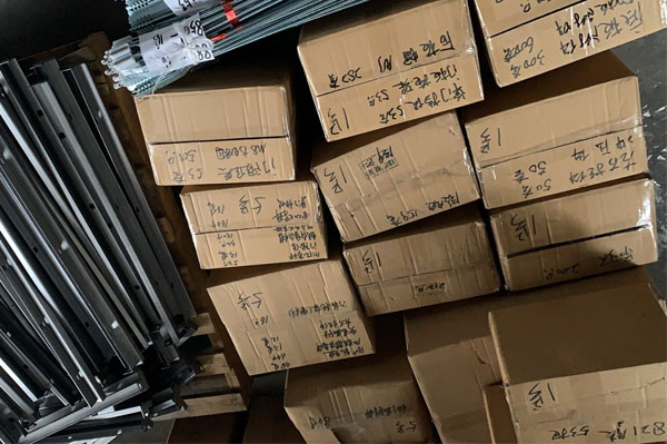 Сетевые компоненты шкафа экспорт металлических деталей