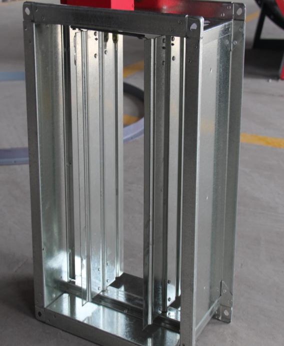 Профилегибочная машина для производства лент противопожарных заслонок
