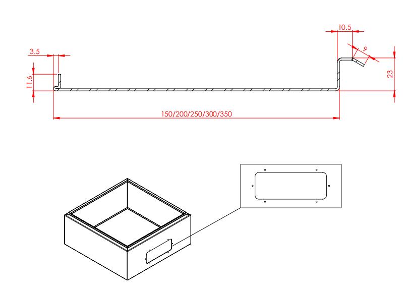 Профилегибочная машина для производства распределительных щитов