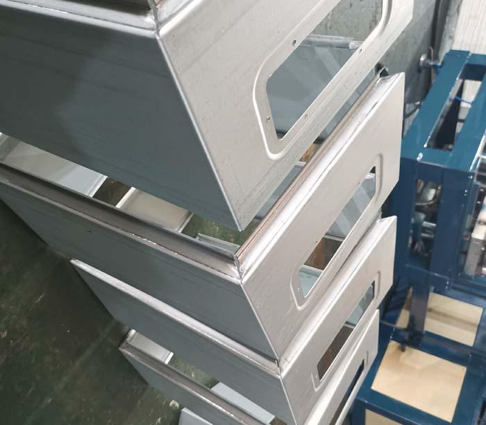 Панель Ширина Изменчивая электрическая коробка Производственная линия
