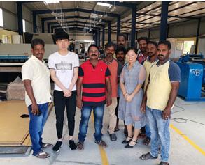 Индия обучение профилегибочного оборудования