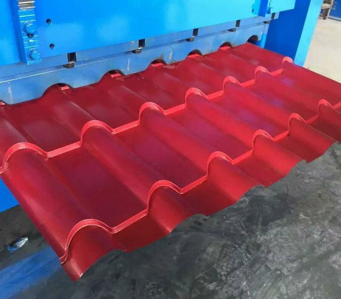 Оборудование для производства Кафельная плитка металлочерепицу