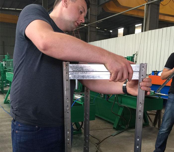 Оборудование прокатных станов для профилирования стоек