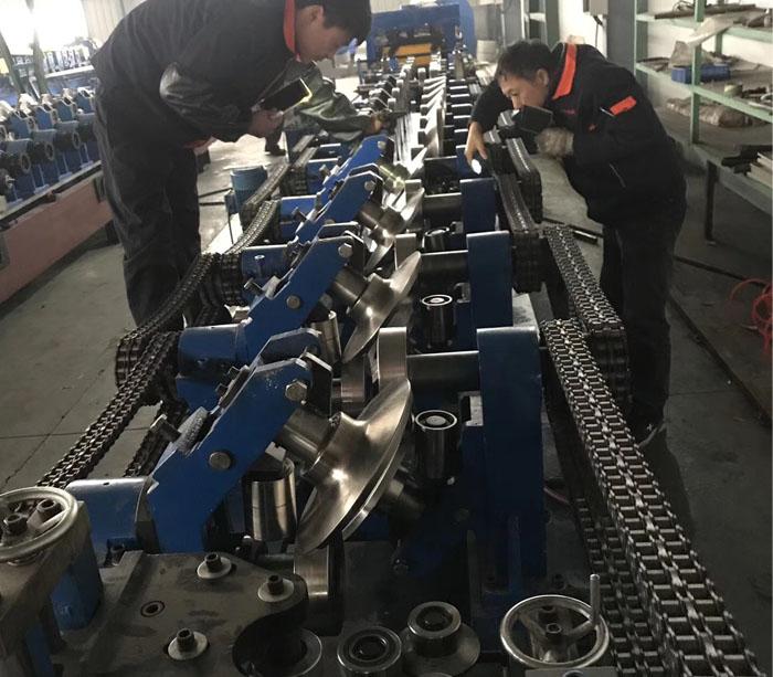 Легкий стальной киль оборудование изготовления гнутых С-, П- и омега профилей